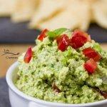 Mediterranean Avocado Feta Dip recipe - easy to make & delicious!