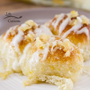 Lemon Pull-Apart Rolls Recipe These lemon rolls are the bomb!