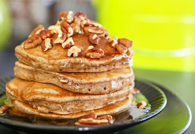 Recipes that use Apple Butter - apple butter pancakes