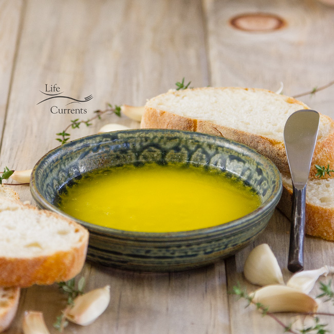 Garlic Butter Dipping Sauce Recipe