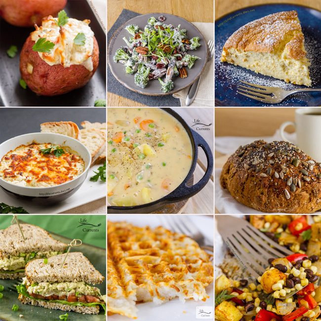 Most Popular Recipes of 2017: the year in review collage collage