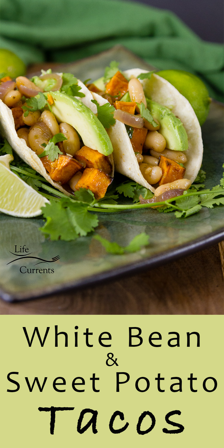 White Bean & Sweet Potato Tacos Filling featuring Goya Foods for #MeatlessMonday #GoyaCanDo #GoyaGives