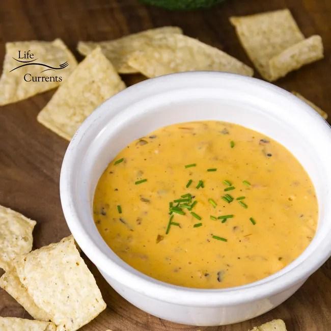 Nacho Cheese dip appetizer recipe plus my super bowl menu