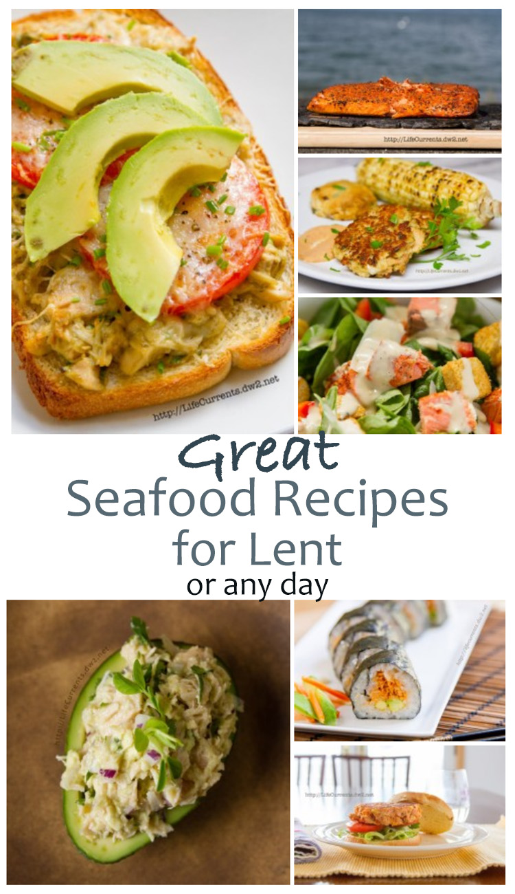 Great Seafood Recipes for Lent