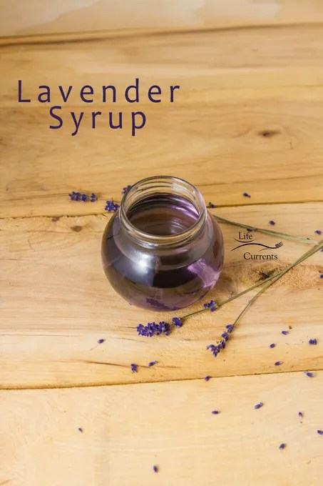 Add the wonderfully warm and floral flavor of lavender to any drink, dessert, or baked good with this easy to make Lavender Simple Syrup Recipe
