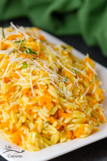Cheesy One Pot Carrot Orzo Side Dish Recipe -Thanksgiving sides dishes make ahead recipes favorite healthy easy vegetable unique for kids light vegetarian meatless simple vegan one pot quick cheesy orzo carrot orzo recipe side dish carrots caramelized risotto
