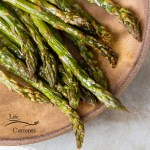 How to Roast Asparagus Asparagus is so simple to prepare in the oven, and it's one of my favorite healthy veggies.