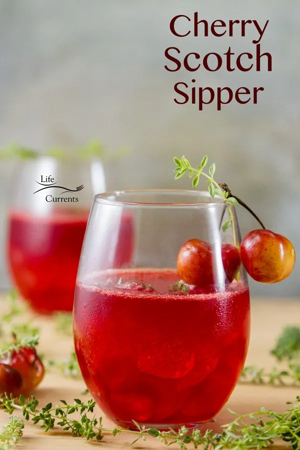 Classic Hot Toddy Recipe featured recipe for Cherry Scotch Sipper