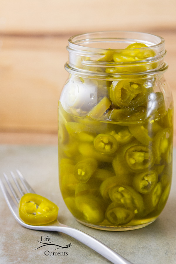 2 ingredient Easy Refrigerator Candied Jalapenos sweet, spicy, and addictive - you'll never want to go back to a plain pickled jalapeños after trying these