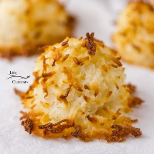 2 Ingredient Coconut Macaroons And, these are gluten-free. Count me in!