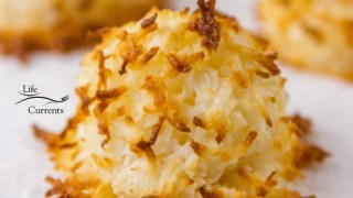 2 Ingredient Coconut Macaroons