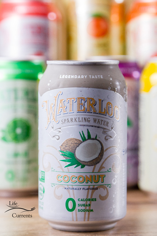 Really cool products you must see - Waterloo Sparkling Water, mmmm coconut!