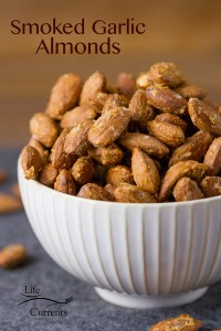 Smoked Garlic Almonds