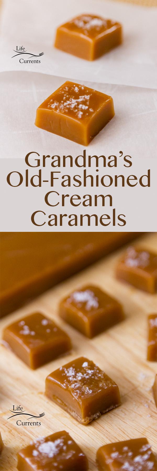 Grandma's Old-fashioned Cream Caramels
