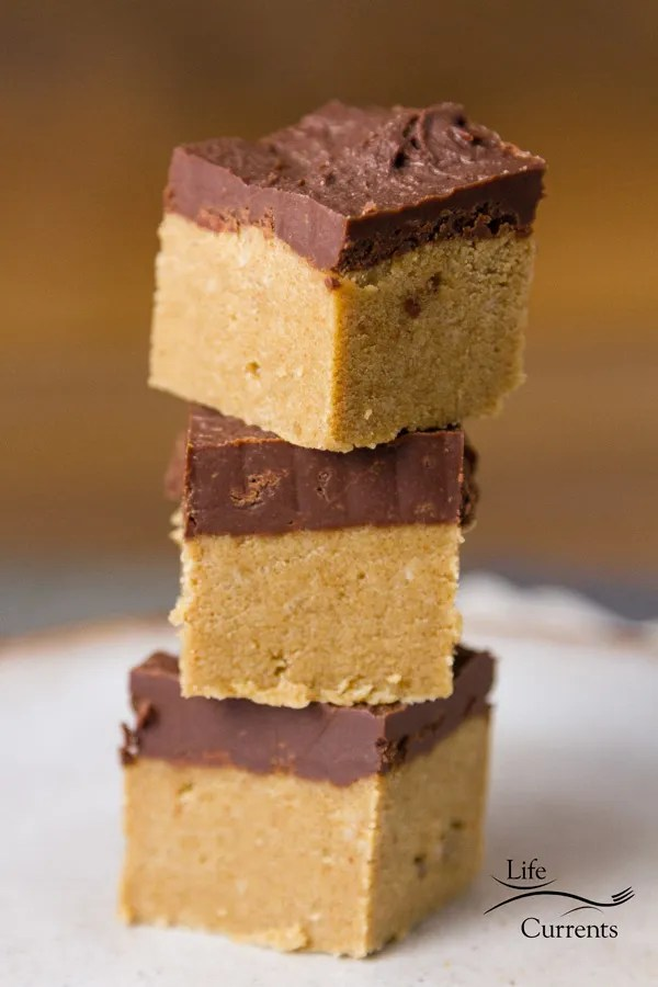 No Bake Peanut Butter Bars - Happy tailgating snacks month! With the perfect 5-ingredient treat