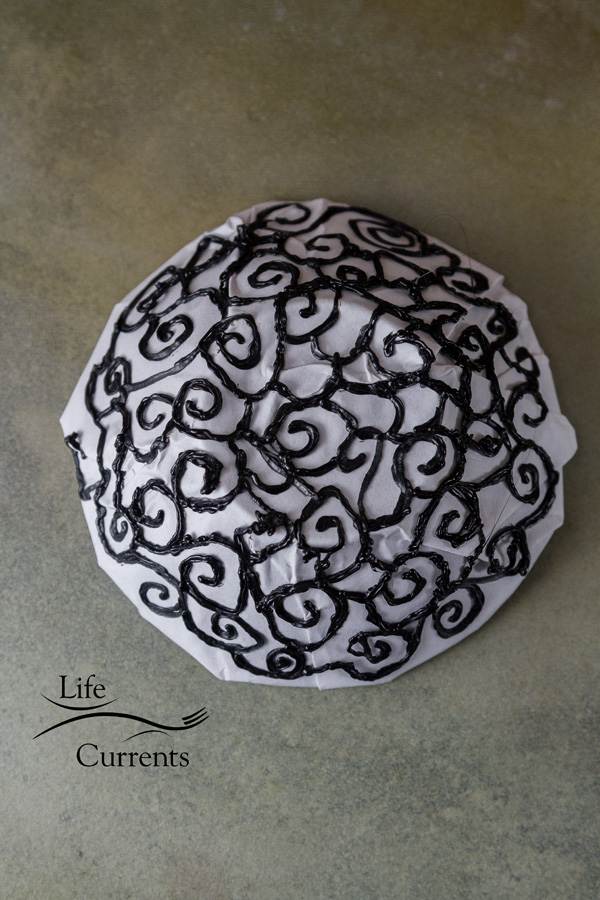 How to Make a Scroll Bowl using the 3Doodler - the bottom of the bowl