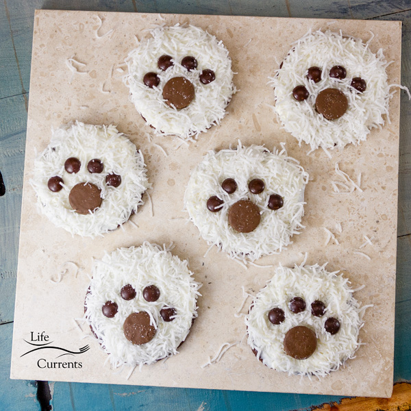 Polar Bear Paw Cookies Recipe