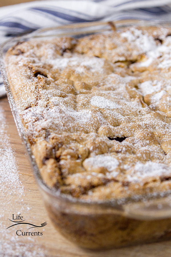 Old-Fashioned Apple Walnut Cake - easy and delicious, the way cake should be