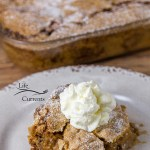 This delicious and easy to make Old-Fashioned Apple Walnut Cake is the kind that Grandma would take to the church social.