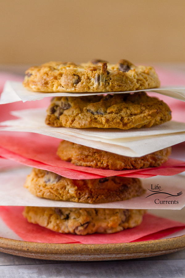 Chocolate Chip Treasure Cookies are perfect for birthday parties and baby showers as well as the annual holiday cookie exchange.