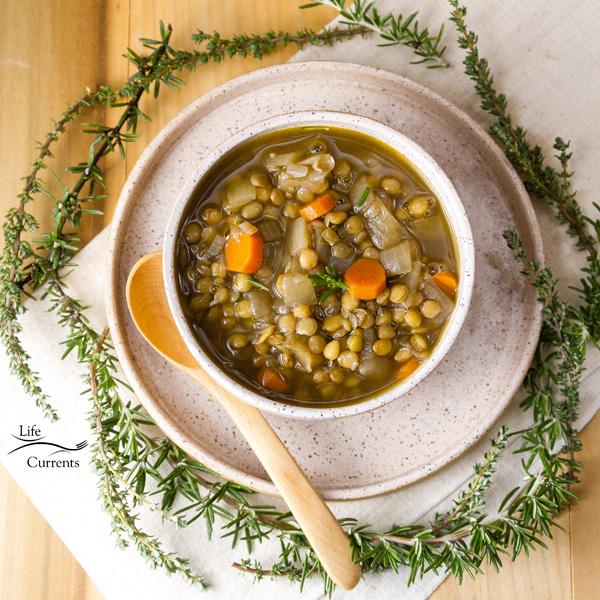 This Lentil Soup is the perfect winter soup