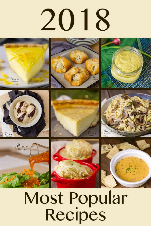 Most Popular Recipes of 2018: the year in review Collage for the most popular recipes