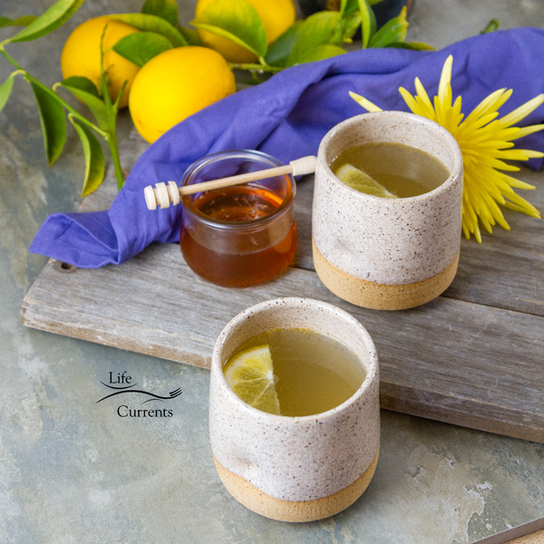 Honey Lemon Cold and Flu Remedy Drink It's super easy to make, even if you're just home alone.