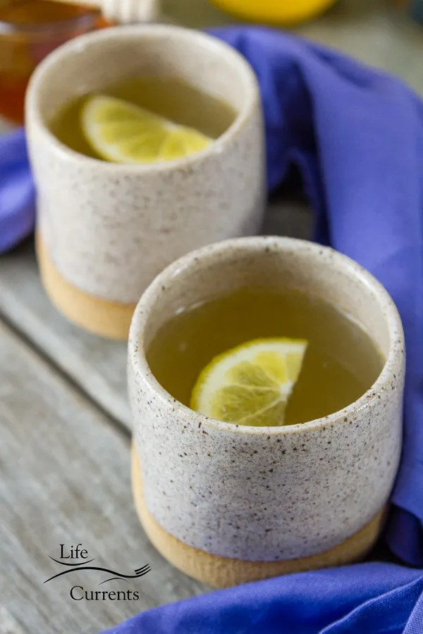 Honey Lemon Cold and Flu Remedy Drink I like to use natural remedies to make people feel better whenever I can.