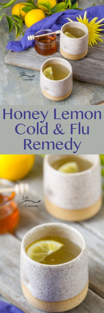 Honey Lemon Cold and Flu Remedy Drink Recipe