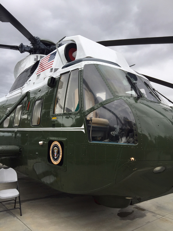 Visit the Richard Nixon Library and Museum - The Presidential helicopter