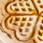 Waffle Iron Stuffed Pizza so much fun for brunch or any meal or makes a great tailgating snack