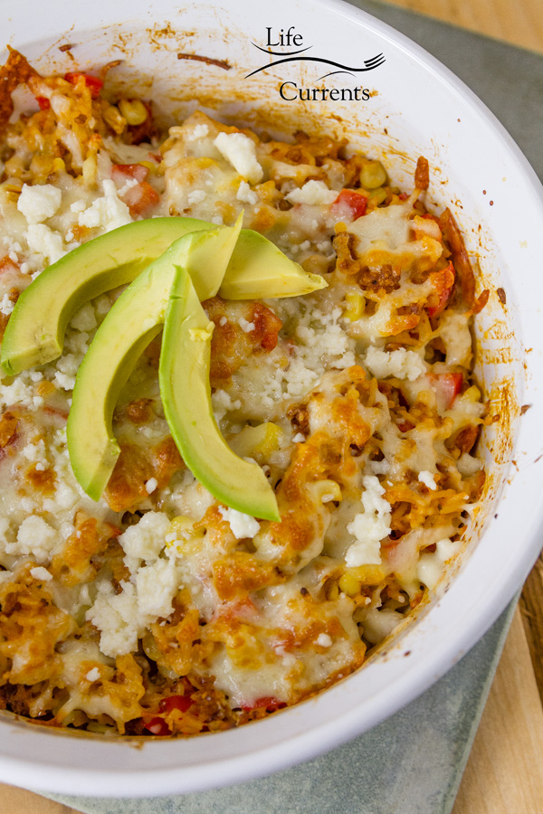 Cheesy Spanish Rice Casserole recipe – an easy to make casserole for weeknight meals