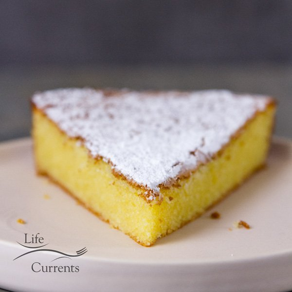 Almond Cake {with a gluten-free option} It would be a great birthday cake, gluten free or not.