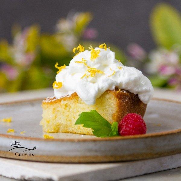 Lemon Poke Cake - so luscious and delicious!