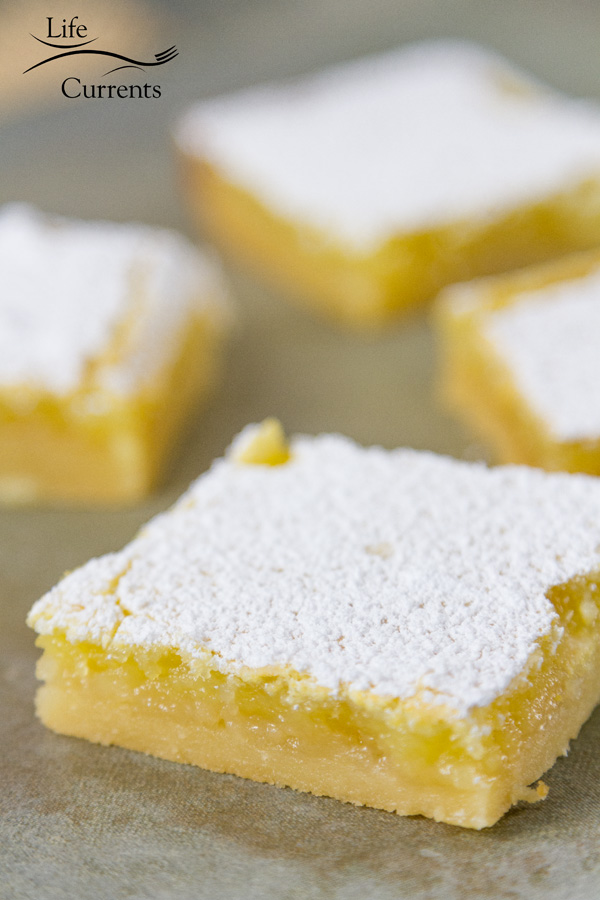 The Best Lemon Bars ever - you'll get lots of requests for this recipe