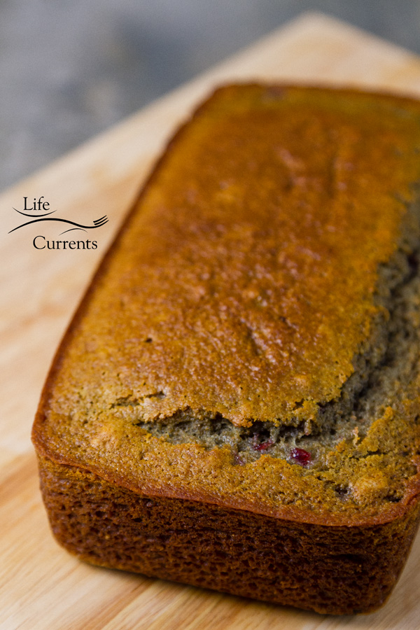 Cherry Bread with Dark Chocolate Glaze Recipe made with whole wheat flour and very moist and delicious