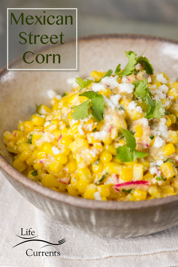 Mexican Street Corn Salad (esquites) Recipe - side dish, appetizer, salad, easy to make, delicious