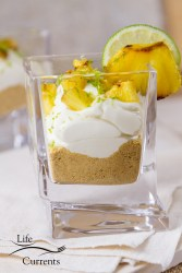 Key Lime and Grilled Pineapple Parfaits Recipe