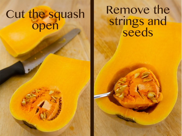hot to roast a butternut squash