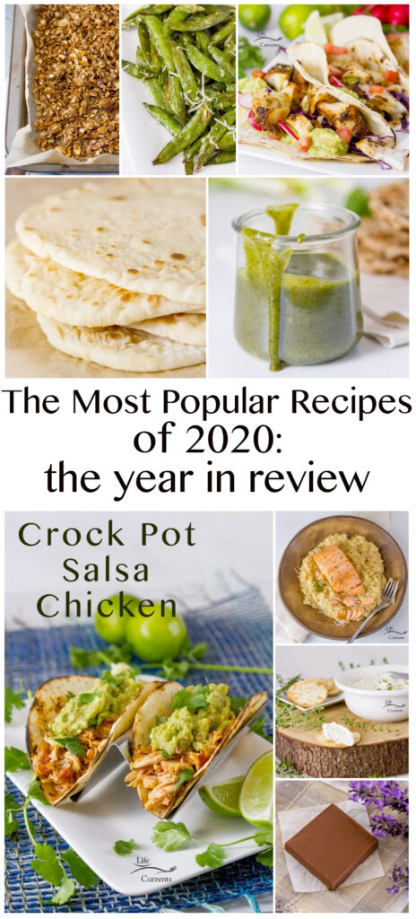 collage of 9 images for the Most Popular Recipes of 2020: the year in review