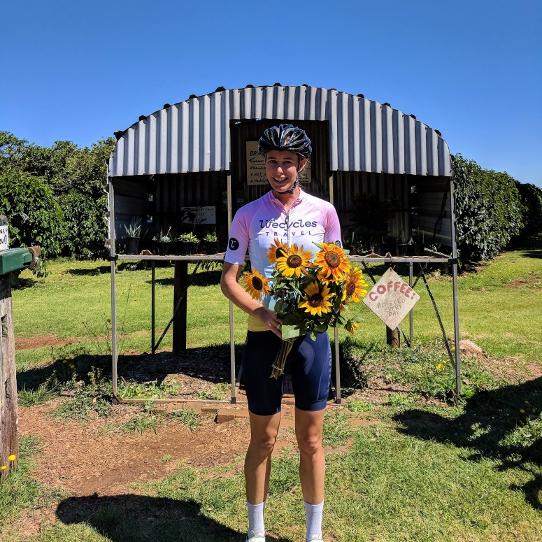 Alice on a Byron Bay Guided Cycling Tour 2019