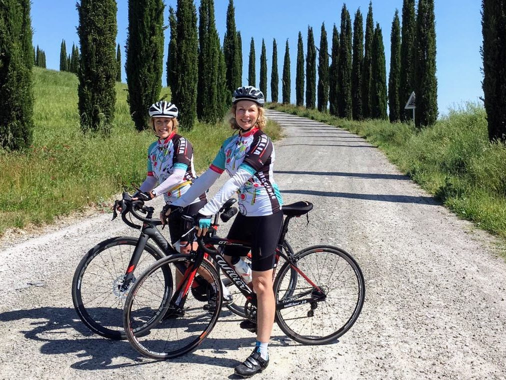 Kerrie and Pamila enjoy Lifecycles Travel