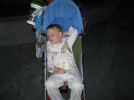 Elvis has crashed!