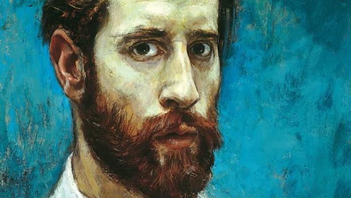 Michael Noakes self-portrait