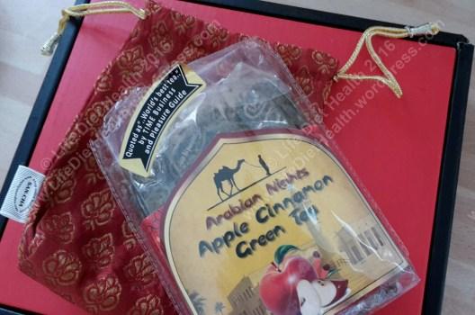 Apple & Cinnamon Green tea... in its own pouch