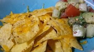 vegan cheesy nachos