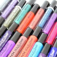Review & Swatches | NYX Cosmic Metals & Liquid Suede Cream Lipstick