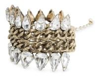 Crystal Link Bracelet, £14.99, Mango