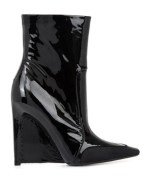 Patent Leather Boots, £745, Balenciaga at Matches