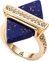 Semi Precious Lapis Diamond Ring, £36, Rachel Roy at Asos